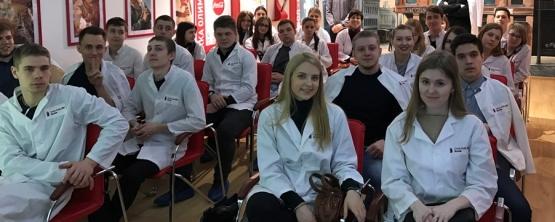Студенты УрГЭУ узнали об истории напитка на экскурсии в компании The Coca-Cola Company HBC