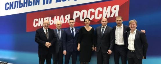 Sergei VORONIN periodically meets with Vladimir Putin