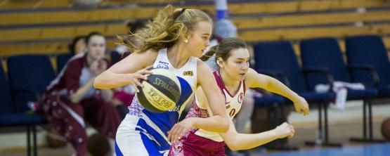 Женская баскетбольная команда УрГЭУ вышла в полуфинал студенческой Суперлиги АСБ