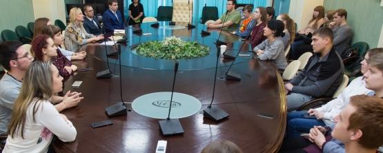 В УрГЭУ прошла лекция профессоров ЕНУ им. Л.Н. Гумилева