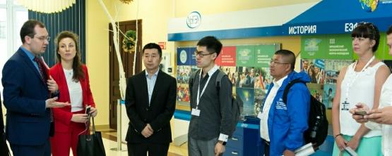 Делегация из Китая посетила УрГЭУ