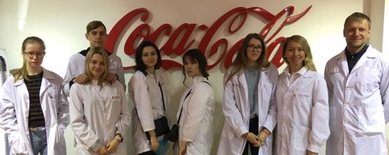 Дни открытых дверей на заводе Coca-Cola
