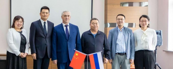 USUE RECTOR YAKOV SILIN VISITED UNIVERSITIES OF CHINA