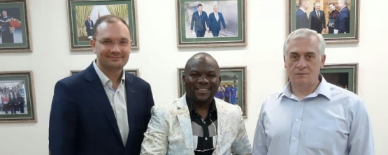 USUE RECEIVES GUESTS FROM NIGERIA