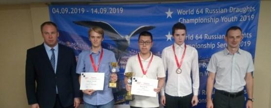 Матвей Недбайло − призер Молодёжного лично-командного первенства мира по шашкам